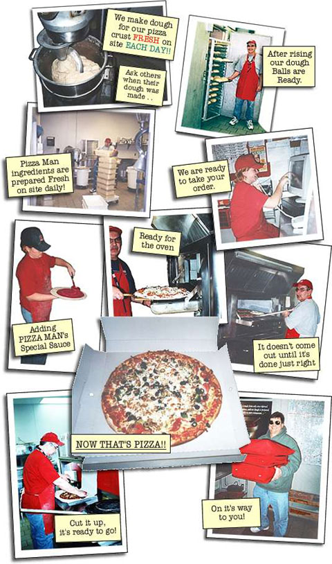The Pizza Man Story